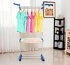 Вертикальная сушилка для белья до 50 кг «ТАК УДОБНО», сушка для белья, вешалка для белья, фото 7
