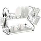 Сушилка для посуды Kitchen storage rack из нержавеющей стали, органайзер для посуды, полка для посуды, фото 2