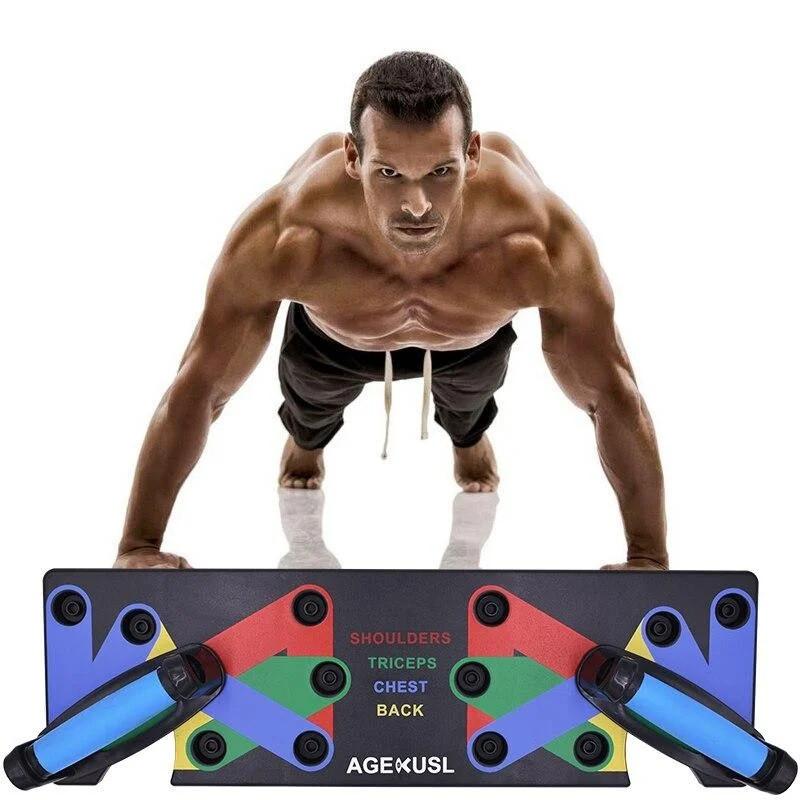 Упоры для отжимания Push Up Rack Board, доска для отжиманий, тренажер для отжиманий
