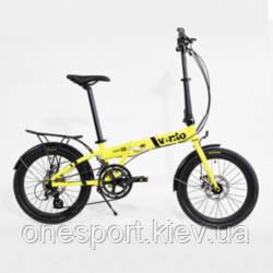 ВЕЛ Велосипед(Vento) FOLDY ADV Yellow Gloss + сертификат на 500 грн в подарок (код 125-660271)