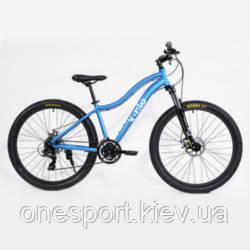 ВЕЛ Велосипед(Vento) MISTRAL 27.5 Light Blue Gloss 15,5/S + сертификат на 500 грн в подарок (код 125-660278)