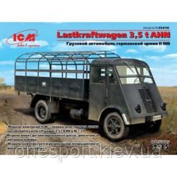 Грузовой автомобиль германской армии II MB Lastkraftwagen 3,5 t AHN (код 200-307390)