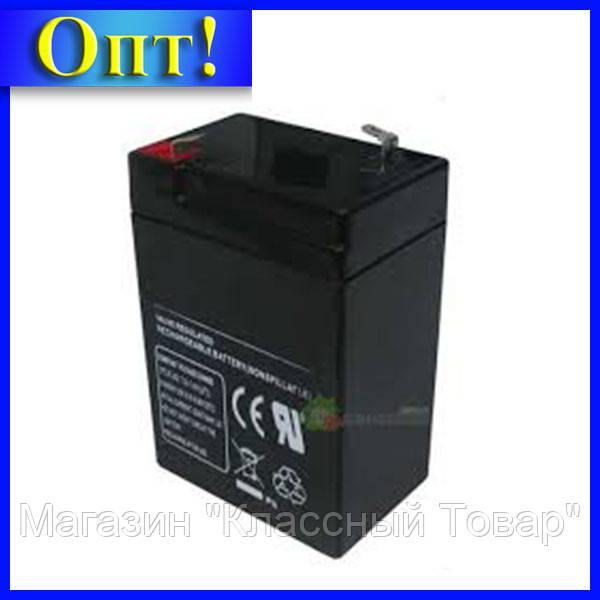 Аккумулятор TOTO 4V4.0AH! Лучший подарок
