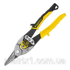 Ножиці по металу Stanley FatMax Aviation прямі, довжиною 250 мм