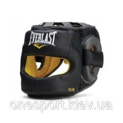 Шолом EVERLAST C3 Safemax Professional Headgear L/XL чорний + сертифікат на 200 грн в подарунок (код 179-396062)