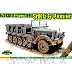 Полугусеничный артиллерийский тягач SdKfz.6 с тяговым усилием 5 тонн (код 200-593115)