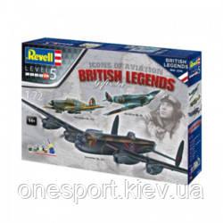 Подарунковий набір 100 років королівських ВПС: Британські легенди (3 літака в наборі) + сертифікат на 150 грн, фото 2