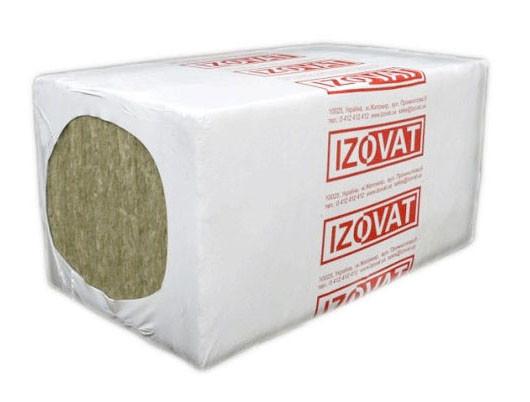 Базальтовый утеплитель Izovat 45 (Изоват) для фасада с облицовкой кирпичом