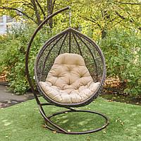 Кресло кокон, качеля из ротанга, подвесное кресло, подвесная качеля.СКИДКИ Веста рошен