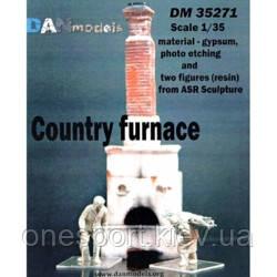 Аксессуары: Сельская печь с 2 фигурами + сертификат на 50 грн в подарок (код 200-495370), фото 2