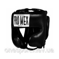 Шолом PRO MEX Professional Training Headgear V2.0 M чорний + сертифікат на 200 грн в подарунок (код 179-598242)