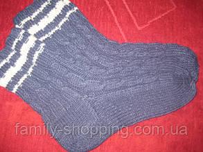 Шкарпетки вовняні ручної роботи, р. 42-44