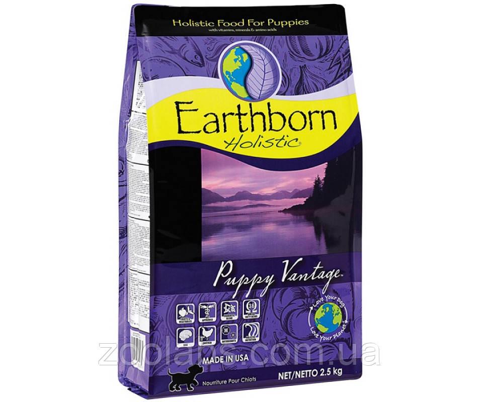 Корм Earthborn для щенков   Earthborn Holistic Puppy Vantage 2,5 кг