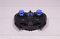 Машинка на радиоуправлении Drifter Turbo Air-Released с музыкальной подсветкой синяя, фото 10