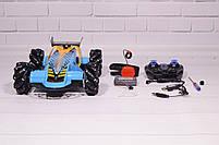 Машинка на радиоуправлении Drifter Turbo Air-Released с музыкальной подсветкой синяя, фото 8