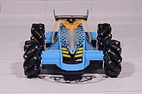 Машинка на радиоуправлении Drifter Turbo Air-Released с музыкальной подсветкой синяя, фото 4