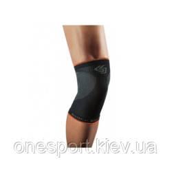 Компрессионный наколенник SHOCK DOCTOR SVR Compression Knee Sleeve L чёрный/серый (код 179-603928)