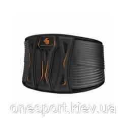 Бандаж спины компрессионный SHOCK DOCTOR Ultra Back Support XXL чёрный/серый + сертификат на 150 грн в подарок
