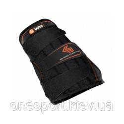 Бандаж кисти (левой) кисти SHOCK DOCTOR Wrist 3-strap XL чёрный + сертификат на 50 грн в подарок (код