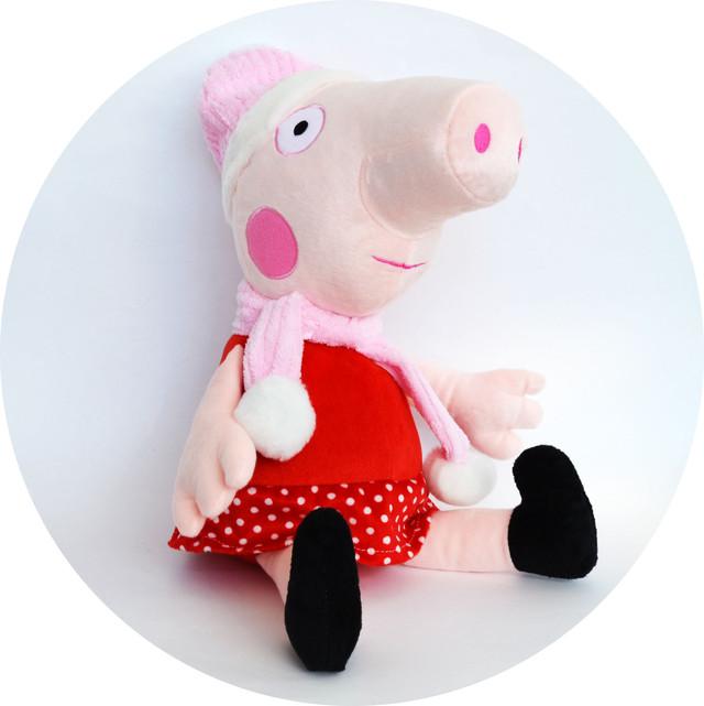 Свинка Пеппа зимняя - мягкая игрушка