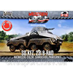 FTF065 Sd.Kfz.231 8-RAD German heavy armored car (код 200-610864)