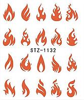 Слайдер водный для дизайна ногтей STZ-1132, фото 1