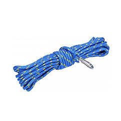 Шнур(Веревка)Для Чистки Дымохода с Карабином(D=6,0 мм / L=10 м)VOREL 73021