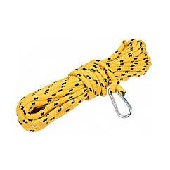 Шнур(Веревка)Для Чистки Дымохода с Карабином(D=8,0 мм / L=10 м)VOREL 73022