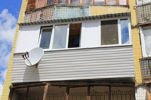 Отделка балконов и лоджий.
