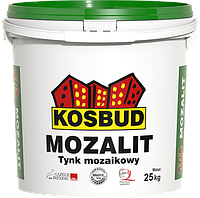 Штукатурка мозаичная акриловая, MOZALIT, серия TM, ведро 25 кг