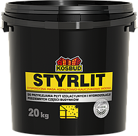 Дисперсионная асфальтно-каучуковая масса STYRLIT, ведро 20 кг