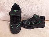 Кроссовки черные для мальчика Clibee., фото 8