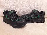 Кроссовки черные для мальчика Clibee., фото 7