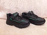 Кроссовки черные для мальчика Clibee., фото 6