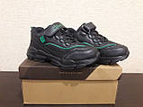 Кроссовки черные для мальчика Clibee., фото 4