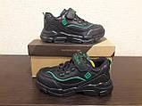 Кроссовки черные для мальчика Clibee., фото 2