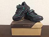 Кроссовки черные для мальчика Clibee., фото 3