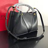 Сумка шоппер от Валентино, кожаная реплика 31 и 41 см, фото 9