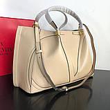 Сумка шоппер от Валентино, кожаная реплика 31 и 41 см, фото 3
