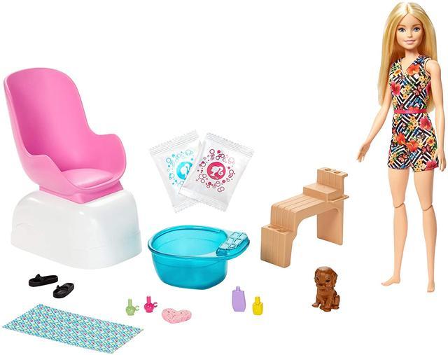 Набор Barbie Mani-Pedi Spa Playset