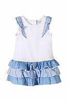 Плаття для дівчинки 116 см, сукня для дівчинки, 5.10.15, біла
