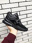 Чоловічі кросівки Nike Air Force 270 (чорні) 10123, фото 2