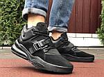Чоловічі кросівки Nike Air Force 270 (чорні) 10123, фото 3