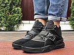 Чоловічі кросівки Nike Air Force 270 (чорні) 10123, фото 4
