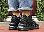 Чоловічі кросівки Nike Air Force 270 (чорні) 10123, фото 5