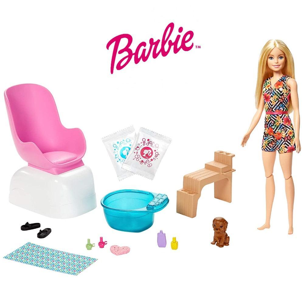 Игровой набор Барби Маникюрный салон Barbie Mani-Pedi Spa Playset