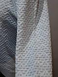 Стильный шерстяной мужской свитер с v-образным вырезом Турция Бежевый, фото 5