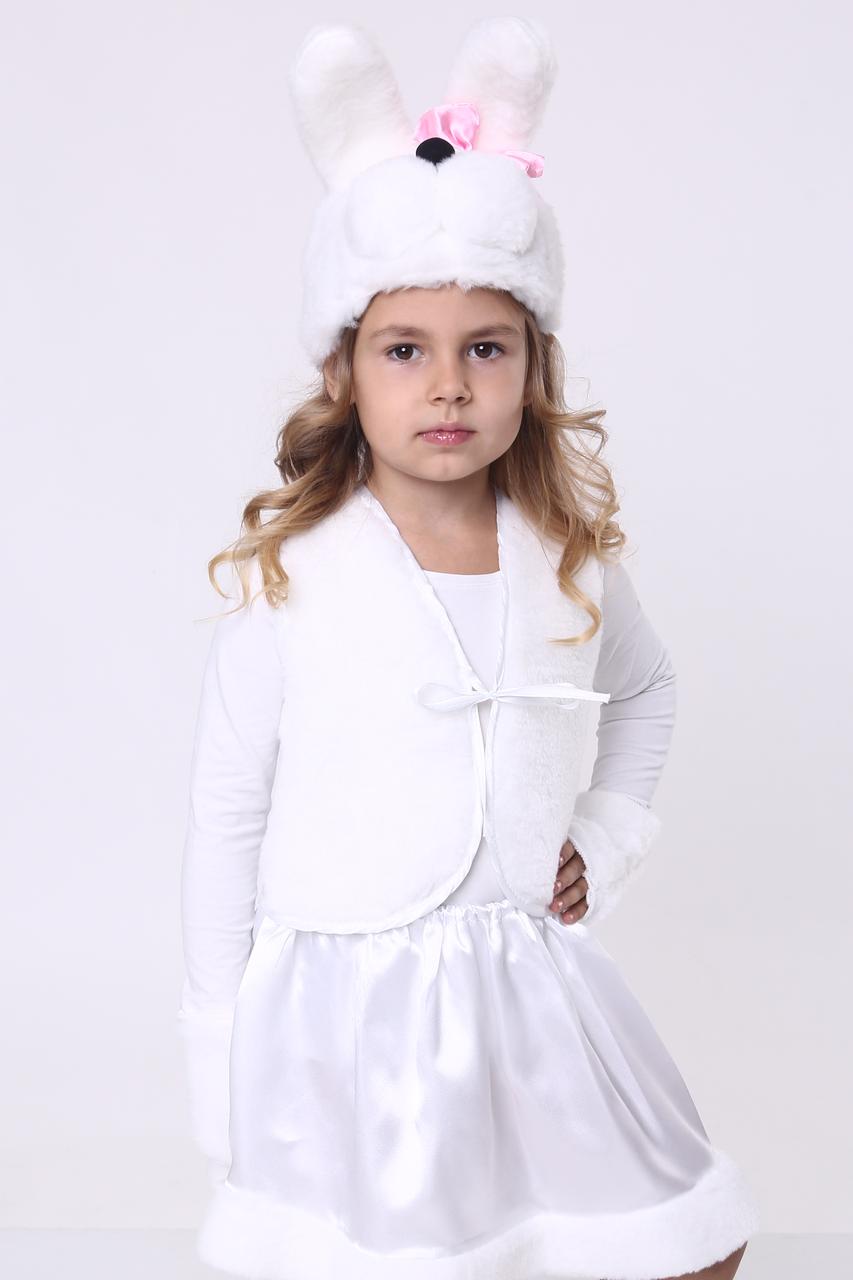 Карнавальний костюм Зайка №1 (дівчинка)