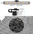 Светодиодный LED стробоскоп (4 лампы + 9 режимов работы + пульт ДУ) КРАСНЫЙ + СИНИЙ, фото 6