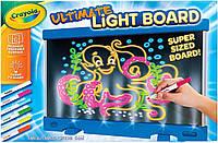 Crayola Планшет с лед подсветкой 3 режима свечения белый 74-7245 Ultimate Light Board Drawing Tablet